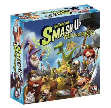 Drustvena igra Smash Up - Munchkin, Kutija