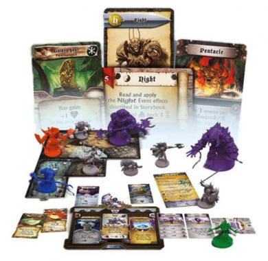 Društvena igra Sword & Sorcery - Immortal Souls, figurice