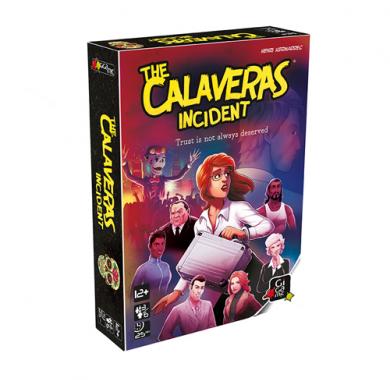 Drustvena igra The Calaveras Incident, kutija