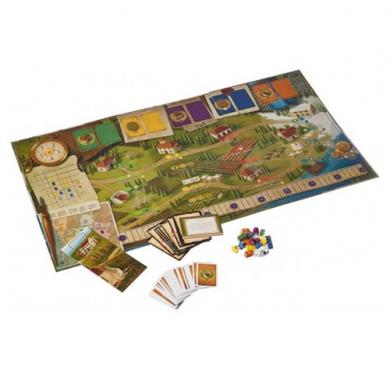 Drustvena igra Tuscany Essential Edition, postavka