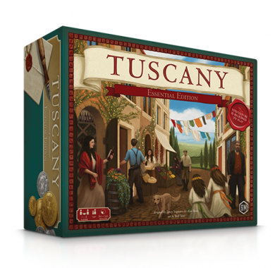 Drustvena igra Tuscany Essential Edition, kutija
