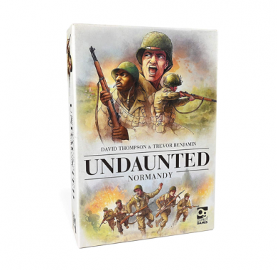 Drustvena igra Undaunted Normandy, kutija