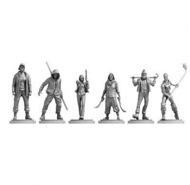 Društvena igra Vengeance figurice iz igre