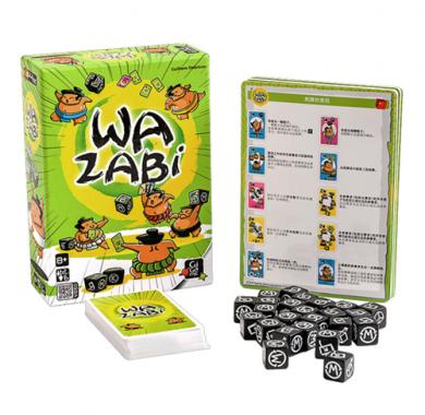 Edukativna igra Wazabi, gigamic, sadrzaj kutije