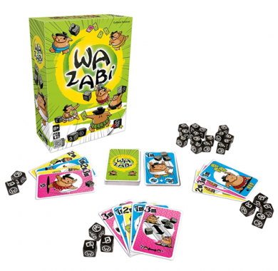 Edukativna igra Wazabi, gigamic, kutija i postavka