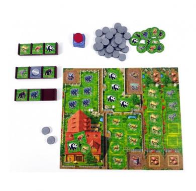 Zooloretto, Drustvena igra, porodicna igra, igra za poklon, zabava, poklon, beograd, online prodaja drustvenih igara