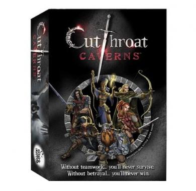 Drustvena igra Cutthroat Caverns, Drustvena igra, tematska igra, strateska igra, zabava, poklon, beograd, srbija, prodaja drustvenih igara
