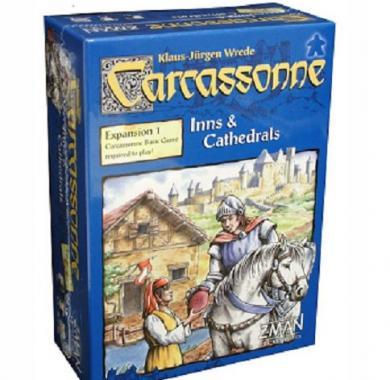 Drustvena igra, board game Carcassonne Inns & Cathedrals expansion
