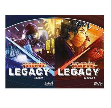 Drustvena igra, board game Pandemic Legacy