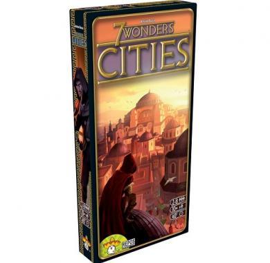 Drustvene igre 7 Wonders Cities ekpanzija