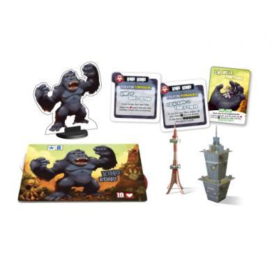 Društvena igra King of Tokyo King Kong Monster Pack sadržaj