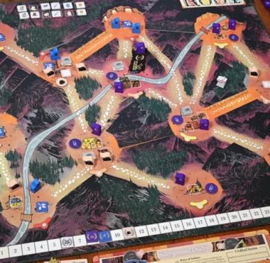 Društvena igra Root The Underworld Expansion ekspanzija mapa