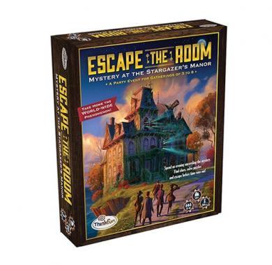 Drustvene igra Escape the room, misterija , tajna, parti, tajna večera
