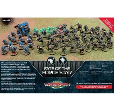 Fate of the Forge Star, Mantic, figurice, minijature, board game, ratne igre
