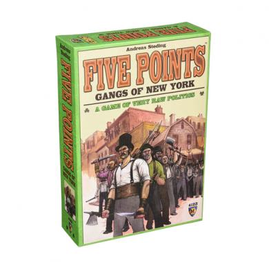 Drustvene igre, Drustvene igre prodaja, Srbija,Drustvene igre prodaja Beograd, Drustvena igra Five Points: Gangs of New York