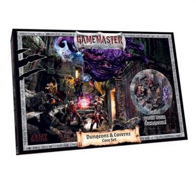 Gamemaster: Dungeons & Caverns Core Set, farbanje minijatura, hobi, wargames, Hobby Set za farbanje figurica i modela