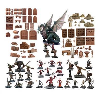 Društvena igra Terrain Crate GMs Dungeon Starter Set