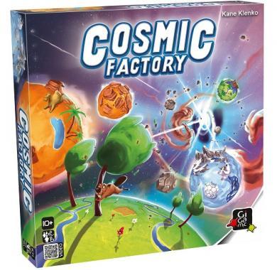 Edukativna igra Cosmic Factory, društvena igra, kutija