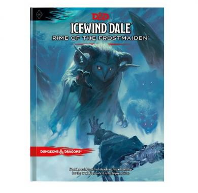 D&D Icewind Dale Rime of the Frostmaiden, FRP, fantasy role playing, tamnice i zmajevi, dungeon & dragons