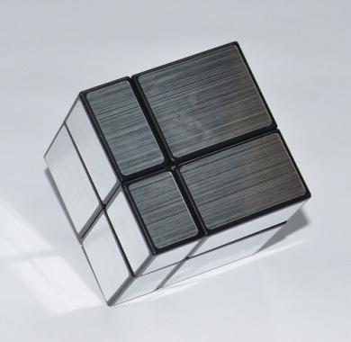 kocka Shengshou Mirror Silver 2x2