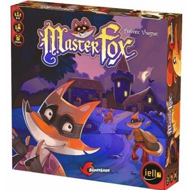 Master Fox, zabavna igra, društvena igru, party game, board game