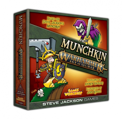 Drustvena igra Munchkin Warhammer Age of Sigmar, Party game, zabavna igra, poklon, beograd, board game, card game, kartična igra, društvena igra