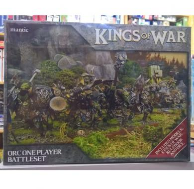Kings of War - Orc One Player Battle Set, društvene igre, minijature, ratna igra