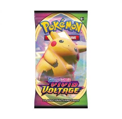 Kartična igra Pokemon TCG Sword & Shield Vivid Voltage Booster