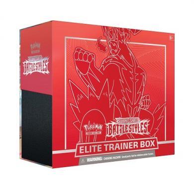 Kartična igra Pokemon TCG: Sword & Shield - Battle Styles Elite Trainer Box (Single Strike)