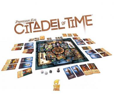 Društvena igra Professor Evil And The Citadel Of Time sadržaj