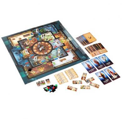 Društvena igra Professor Evil And The Citadel Of Time tabla iz igre