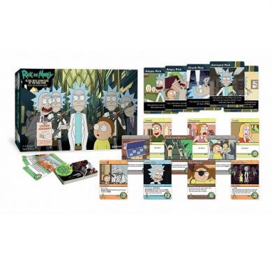 Rick and Morty Close Rick-Counters of the Rick, porodicna igra, igra za poklon, zabava, poklon, beograd, srbija, online prodaja drustvenih igara