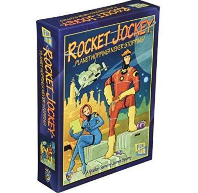 Rocket Jockey društvena igra,strateške igre, porodična igra, poklon, board game, dečija igra, rođendan, pametan poklon