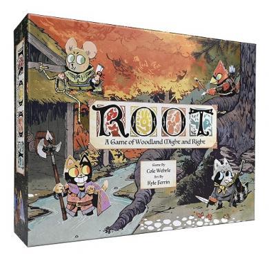 Društvena igra Root kutija
