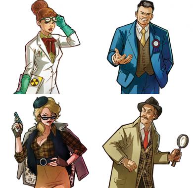 Secrets, zabavna igra, tajne uloge, tajni karakteri, party game