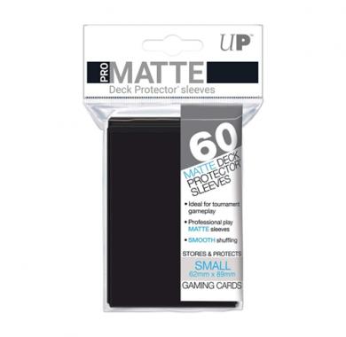 Slivovi Pro Matte Deck Protector Sleeves Black pakovanje