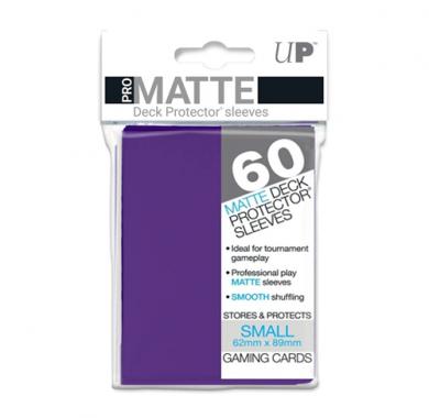 Slivovi Pro Matte Deck Protector Sleeves Purple pakovanje