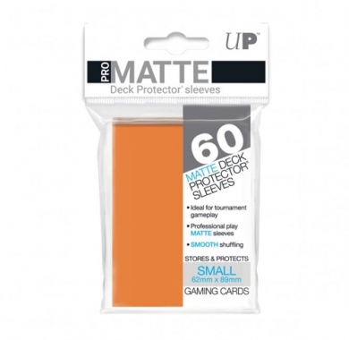 Slivovi Pro Matte Deck Protector Sleeves Orange pakovanje