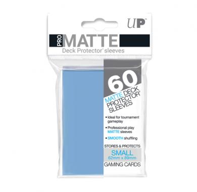 Slivovi Pro Matte Deck Protector Sleeves Light Blue pakovanje