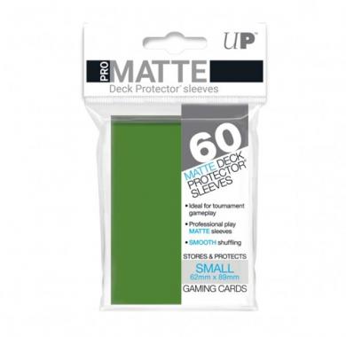 Slivovi Pro Matte Deck Protector Sleeves Green pakovanje