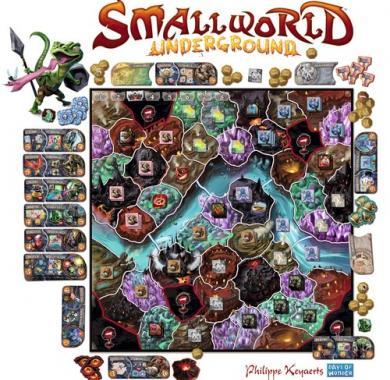 Drustvena igra Small World Undergound, Beograd, drustvene igre, zabava