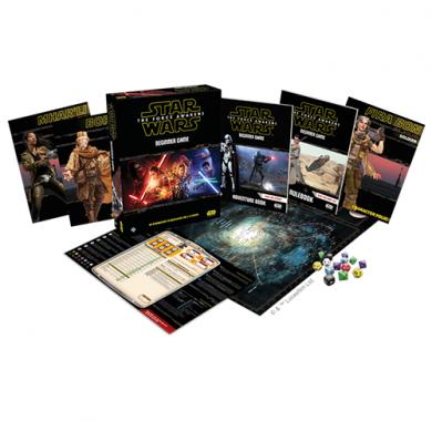 Star Wars Force Awakens RPG Beginner Game, Drustvena igra, tematska igra, strateska igra, zabava, poklon, beograd, srbija, prodaja drustvenih igara, frp