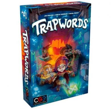 Trapwords, društvena igra, board igra, board game, party igra, family game, porodična igra, zabava, igre na tabli, društvene igre