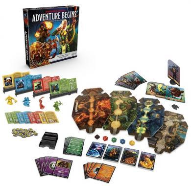 The Dungeons & Dragons Adventure Begins, drustvene igre, drustvena igra, D&D, figure, minijature, miniji, figurice, dungeons and dragons, drustvene igre prodaja, neobojena