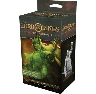 Društvena igra The Lord of the Rings Journeys in Middle Earth Dwellers in Darkness Expansion kutija