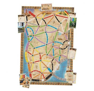 Društvene igre, Strateška igra, Prodaja, Beograd, Srbija, Games4you, Društvena igra Ticket To Ride Heart of Africa