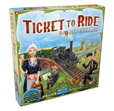 Ticket to Ride Nederland , Drustvene igre, Drustvene igre prodaja, Srbija,Drustvene igre prodaja Beograd, Ticket to Ride Map Collection: Nederland