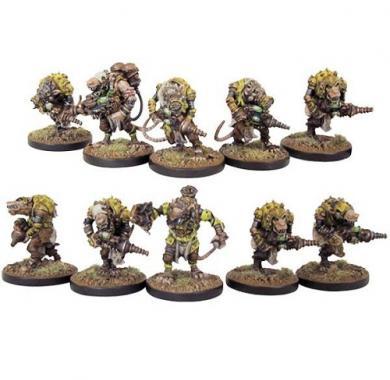 Veer-myn Night-Crawlers Platoon, miniature, strategija, društvene igre, beograd, board game