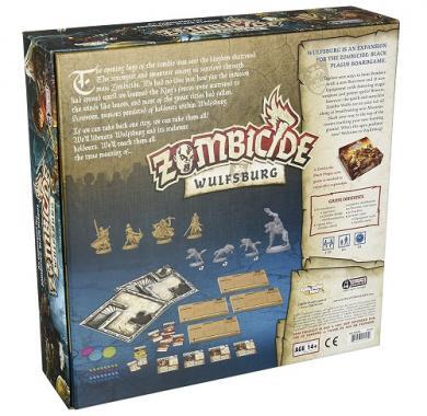 Zombicide Black Plague Wulfsburg, Drustvena igra, porodicna igra, igra za poklon, zabava, poklon, beograd, srbija, online prodaja drustvenih igara