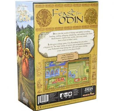 A Feast for Odin, društvena igra, board igra, board game, party igra, family game, porodična igra, zabava, igre na tabli, društvene igre